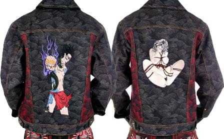 Red Monkey Jackets + Very Rare RMC Denim jacket