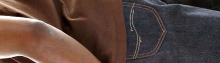 Sugar Cane Jeans = Green-line Selvage Denim!