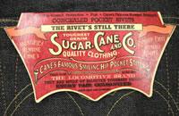 Sugar Cane Jeans - Sugar Cane Dungarees - Japanese Selvage Denim