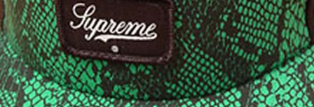 Supreme Cap + Supreme Tee = Uber-Skate Apparel