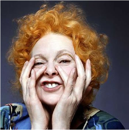 Vivienne Westwood gets vocal!