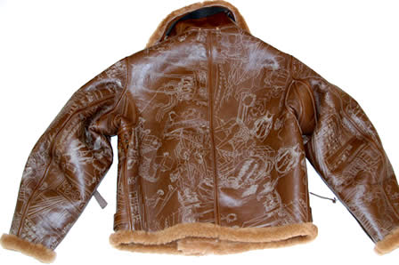 Eastman Leather Flight Jacket x Yoropiko Jacket