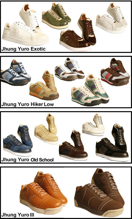 Designer Trainers + Jhung Yuro = Ultimate Sneakers!
