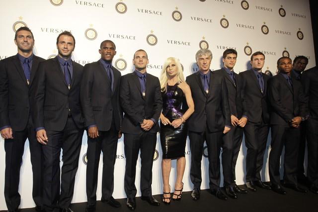 Donatella Versace FC Internazionale