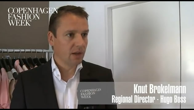 Knut Brokelmann, Regional Director, Hugo Boss - Interview SS12