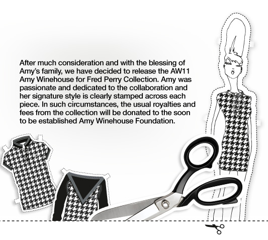 Fred Perry to release Amy Winehouse Collection