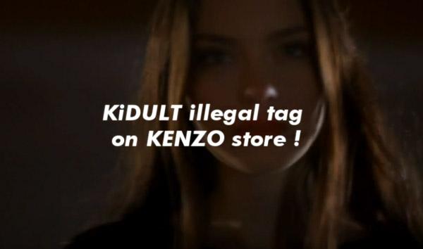 KIDULT X KENZO