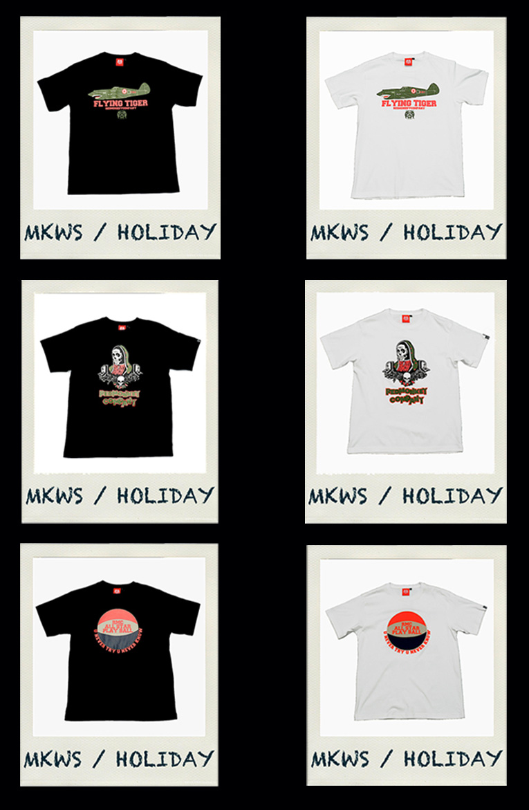 Red Monkey & MKWS new T-Shirt Collections