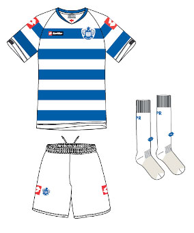 QPR Home Kit 2012 by Lotto