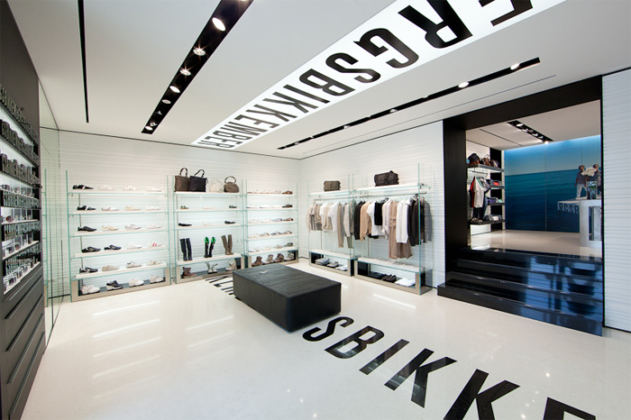 Dirk Bikkembergs New Shop in Bari, Italy