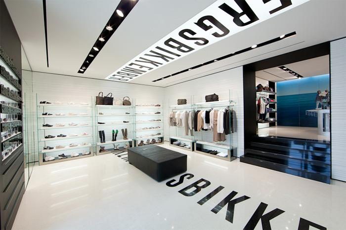 Dirk Bikkembergs New Shop in Bari, Italy