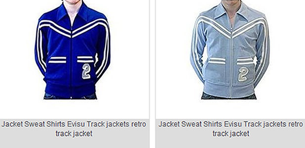 Evisu Jacket - Super Track jackets at 50% OFF!