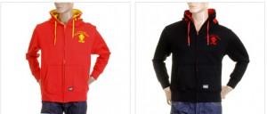 New MKWS Red Monkey Hoodies