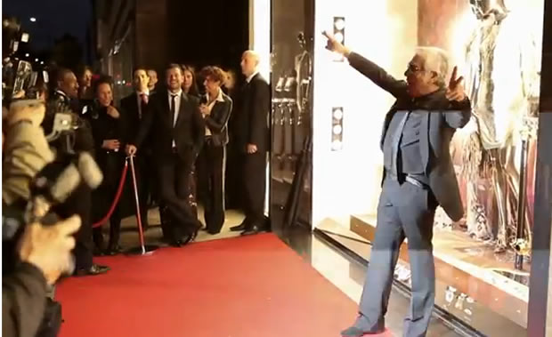 London Fashion Week: On the Red Carpet with Roberto Cavalli