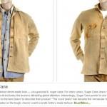 Sugar Cane brown vintage wash Jeans & Shirt