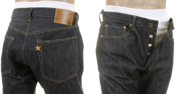 Slim fitting Sugar Cane Jeans