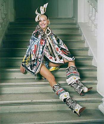 Vivienne Westwood, A Concerned Fashion Designer