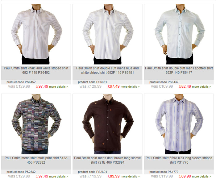 discount-paul-smith-shirts