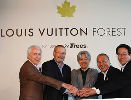 Louis Vuitton Forest by More Trees