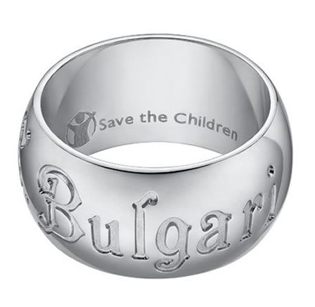 'Bulgari Ring + Save the Children