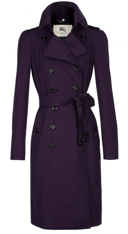 Burberry Trench Coat - celebrate 25 years of London Fashion Week