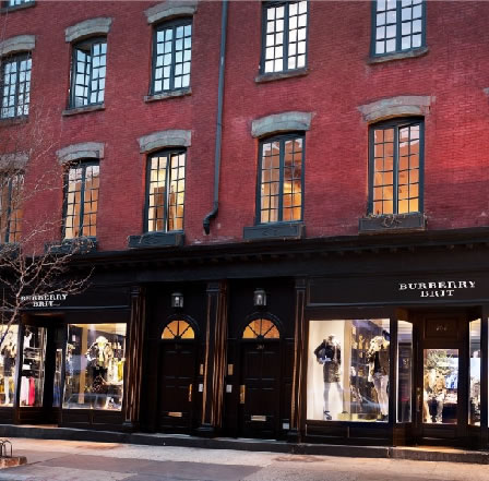 Burberry Brit store in New York/></p> <p>THIRD BURBERRY BRIT STORE OPENS IN NEW YORK<br /> Burberry is pleased to announce the opening of the third Burberry Brit store in New York </p> <p>5,149 square foot store on Bleecker Street opens today</p> <p>Store features design concept developed by Burberry Chief Creative Officer Christopher Bailey </p> <p>British materials and themes used throughout</p> <p>Collections: Burberry Brit, Burberry Accessories</p> <p>Categories: Menswear, Womenswear, Non Apparel, Fragrances, Timepieces, Eyewear</p> <p>Burberry Brit is the casual expression of the brand </p> <p>The first Burberry Brit store in New York opened in November 2009 on Madison Avenue beneath the Burberry Americas Headquarters</p> <p>Burberry has three other existing stores in New York City – Soho, 57th Street and a Burberry London store on Madison Avenue</p> <p><img class=