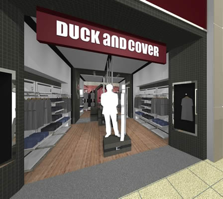 Duck and Cover - flagship store in Birmingham