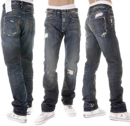 Ijin Distressed Jeans