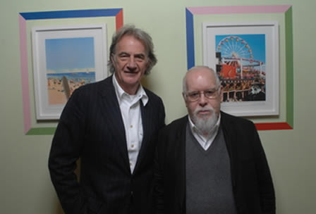 <br /> Peter Blake at No 9 Albemarle