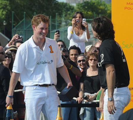Prince Harry into Polo - Ralph Lauren?