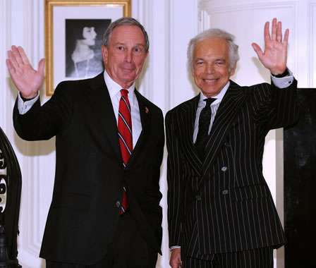 Ralph Lauren Honored with Key to New York City