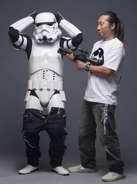 Star Wars RMC Jeans + Adidas Trainers