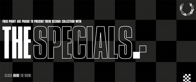Fred Perry x The Specials 2011 Collection
