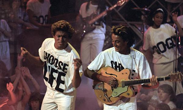 Wham George Michael - Choose Life T-Shirt