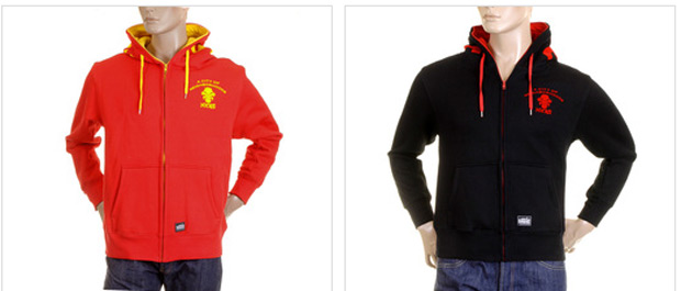 New MKWS Red Monkey Hoodies